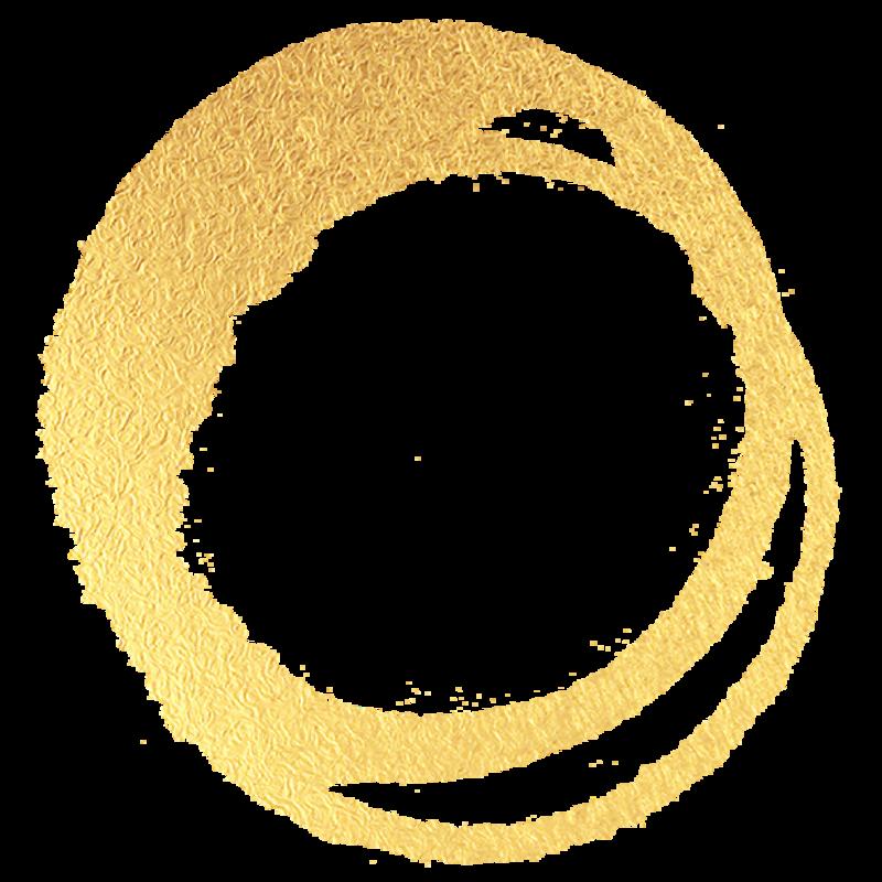 gold circle-01