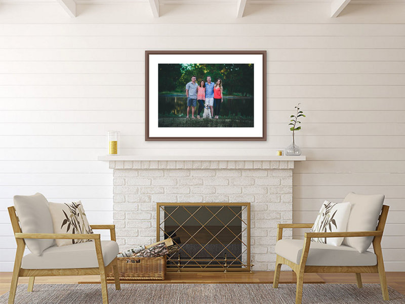 fire place family