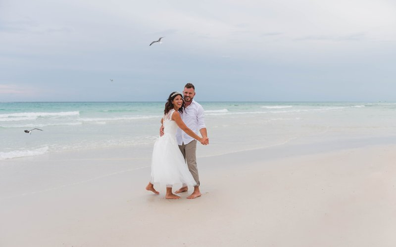 watercolor wedding photographers, destin wedding photographers, miss morse photography