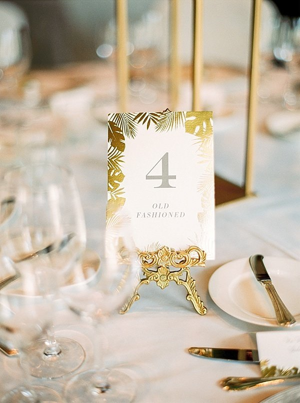 Wedding details table number - dubai wedding