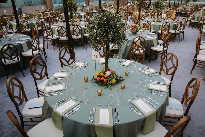 DMC - Big Events, Inc. designed this decadent Conservancy Gala.