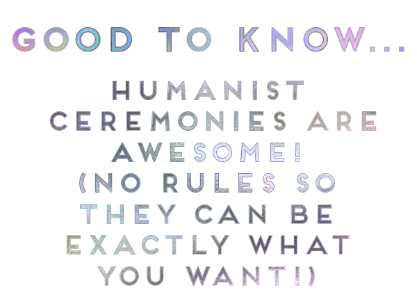 good to know - HUMANIST