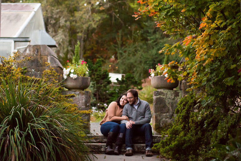 sunset engagement session emma lee photography