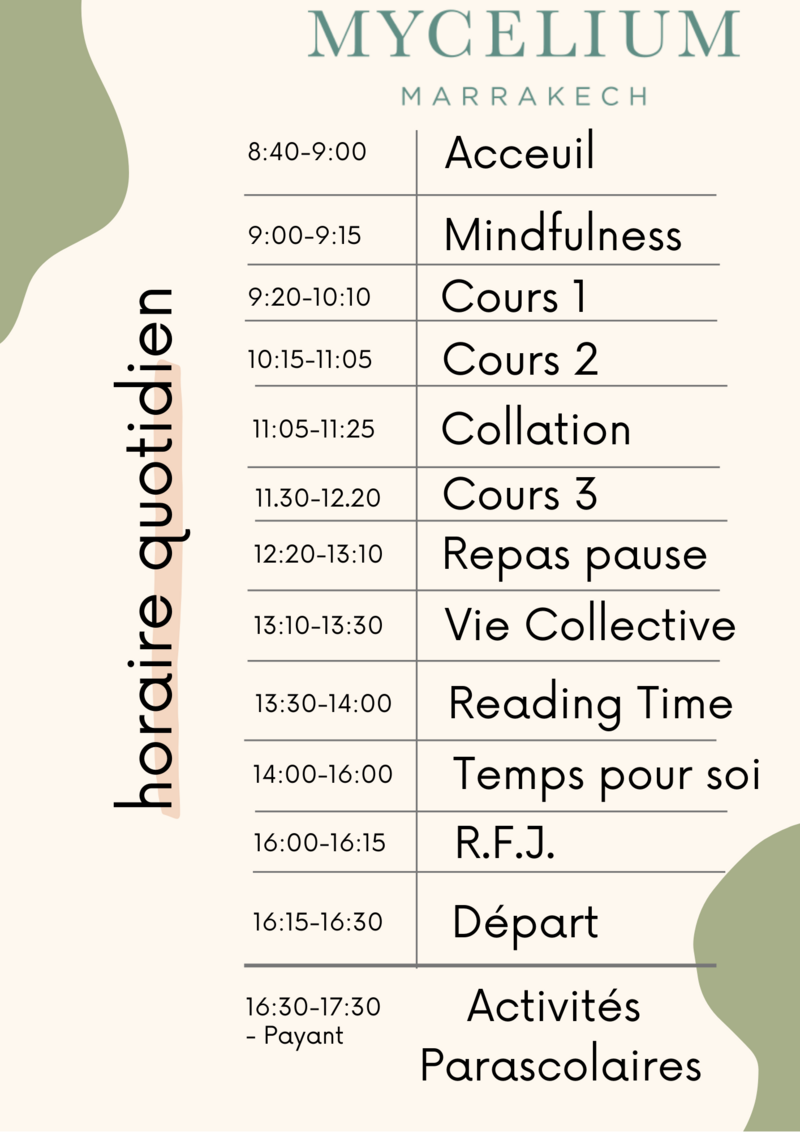 daily schedule2 (Fr )