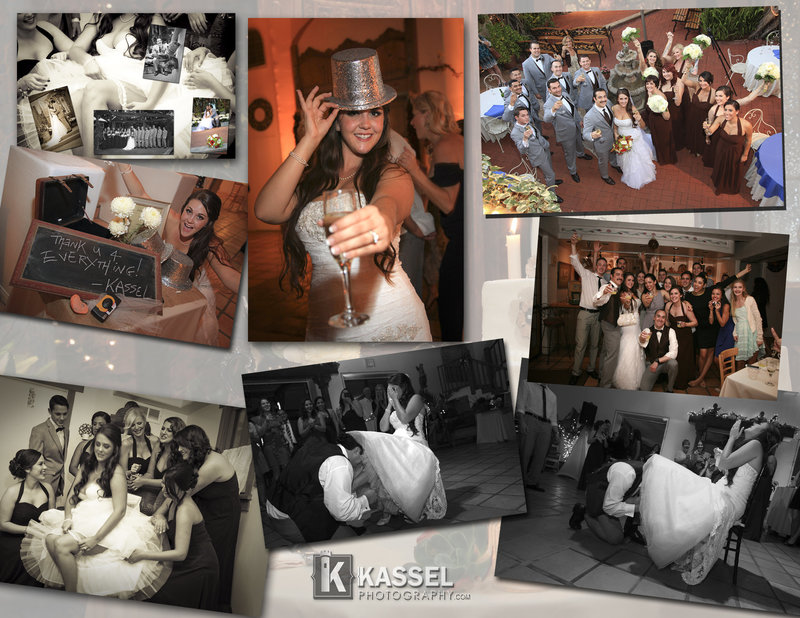 Custom wedding leatherbound flushmount style wedding  books and senior albums.