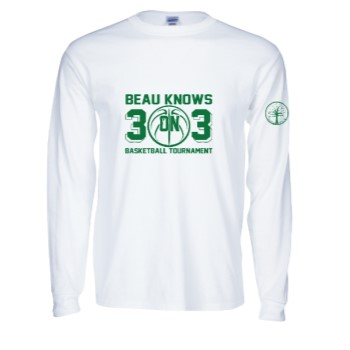 long sleeve 3 on 3 tee