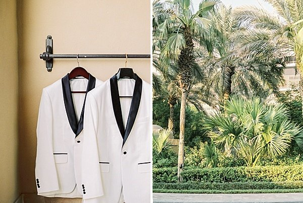 White Tux groom suit_Classic White Wedding Dubai