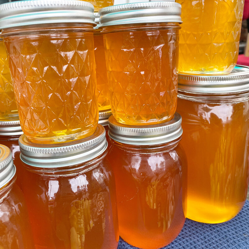 Local seasonal honey