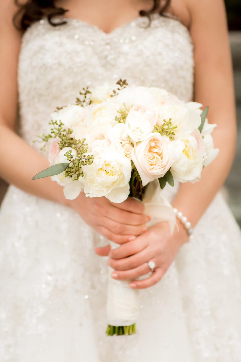Bridal bouquet by AW Flowers
