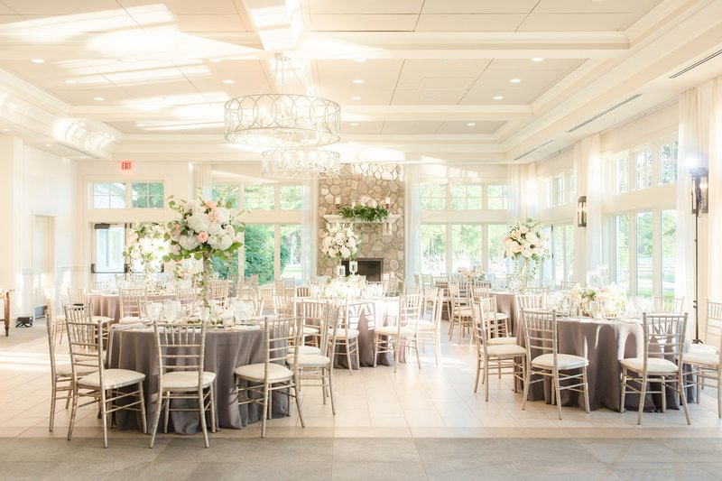 Wedding reception at Indian Trail Club