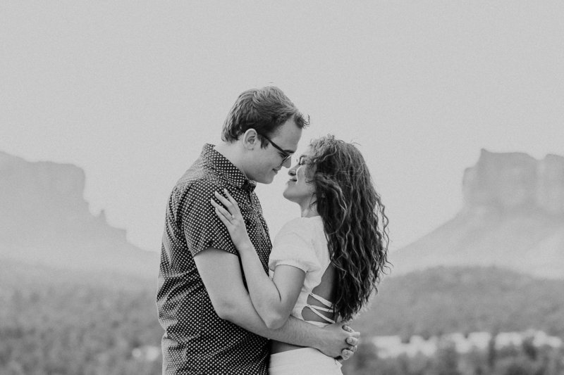 Atlas Rose Photography AZ Kat And Cam Sedona Adventure Engagment Experience 100