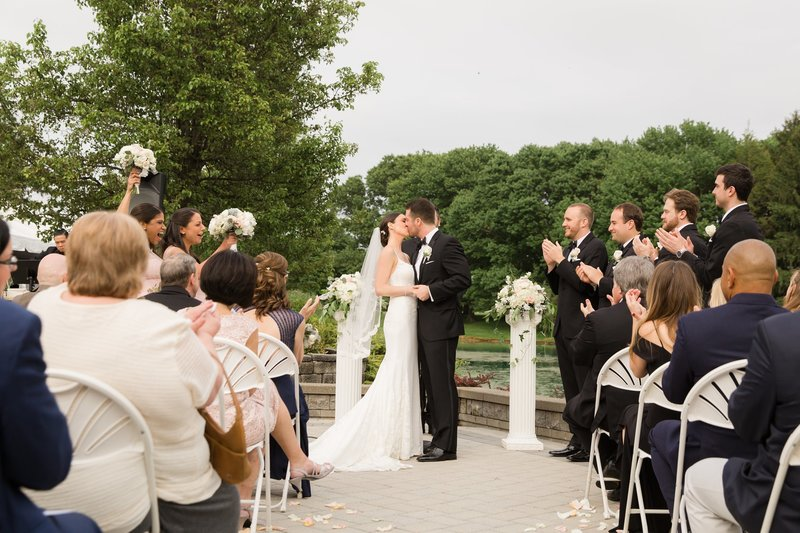 Garden ceremony in NJ