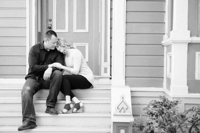 San Jose History Park, Engaged, Engagement Pictures, Jennifer Baciocco Photography, victorian