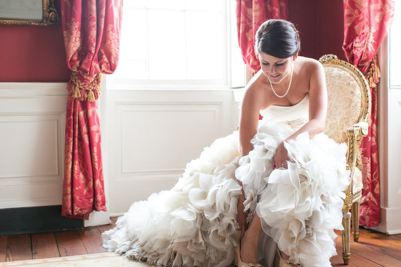 William Aiken House Bridal Portrait Session