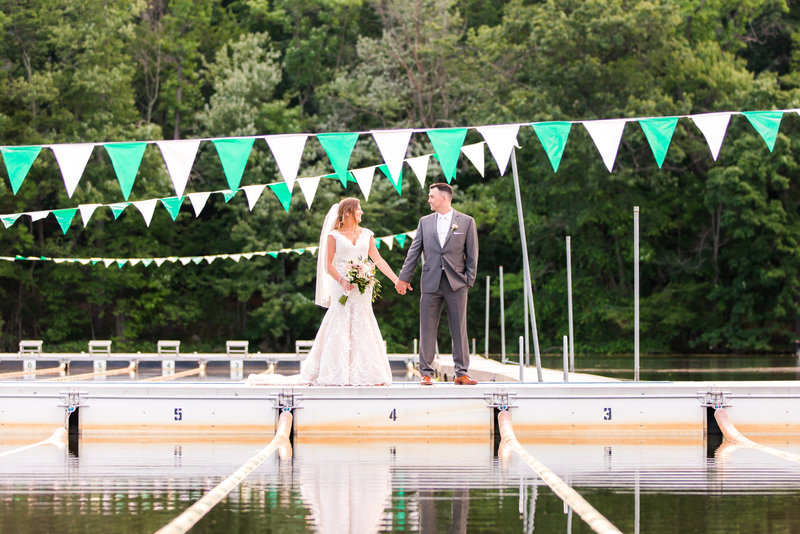 Lake Valhalla Club wedding photos