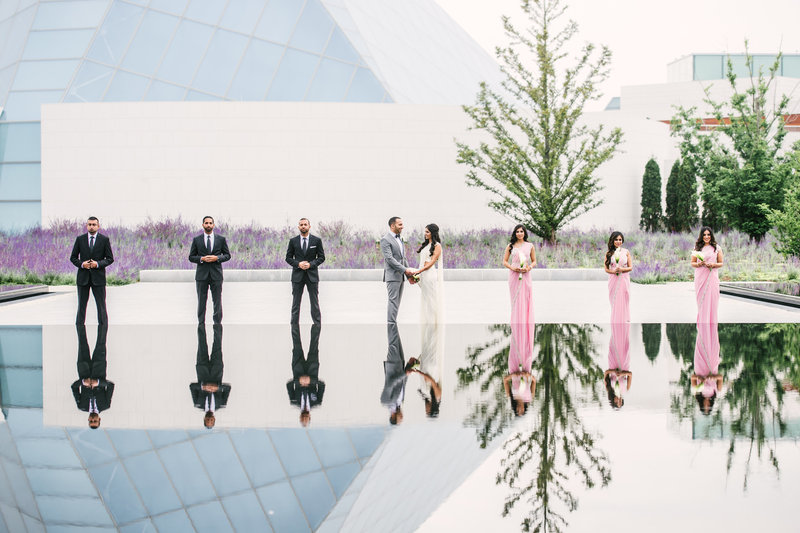 aga khan museum wedding photos strokes photography