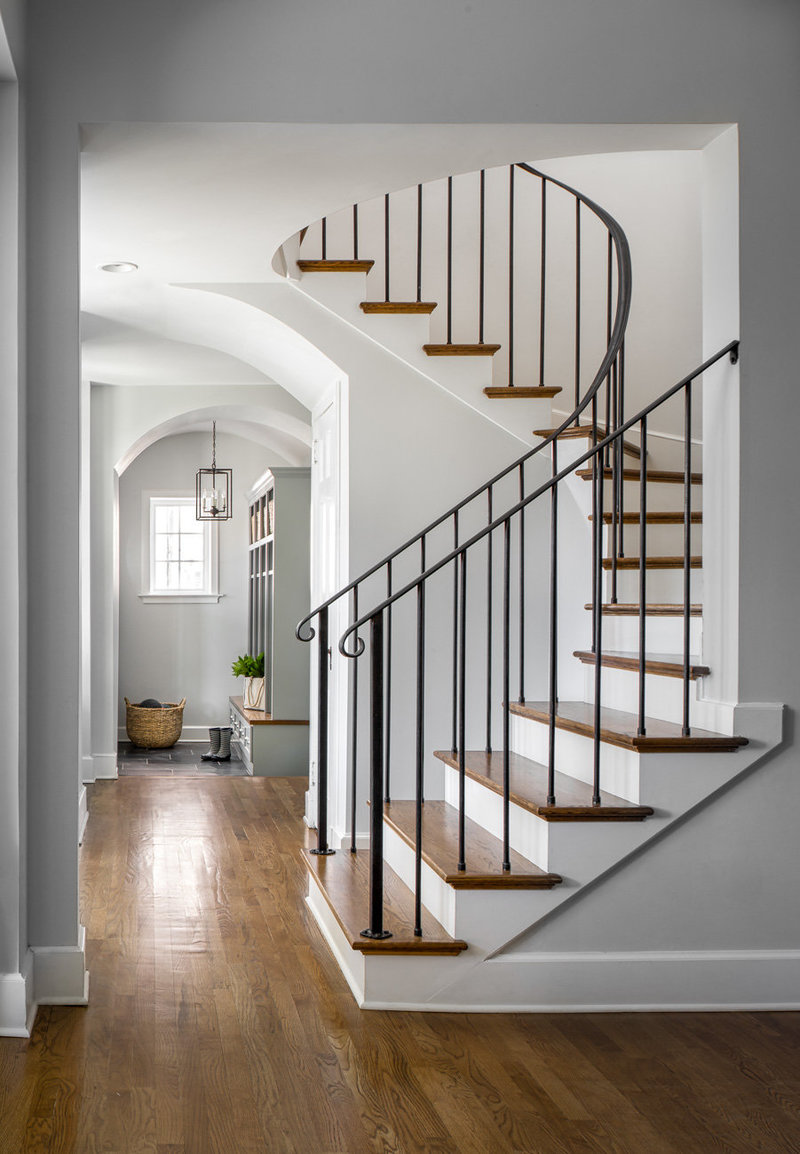 Pinecrest Stairway Clemons Design Co.
