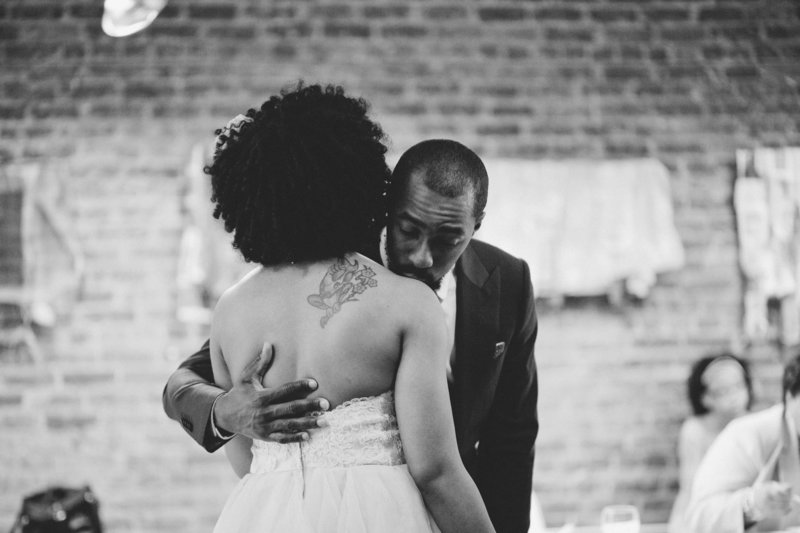 Glam and Interracial African Inspired Atlanta Wedding at Agnes Scott