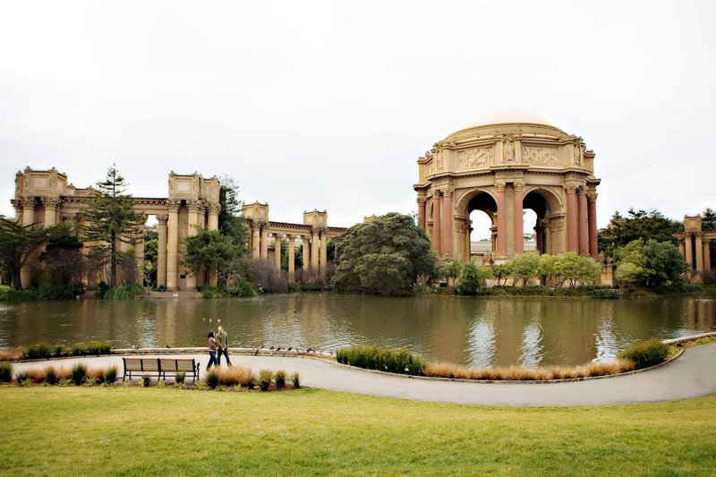 Palace of Fine Arts Engagement Session, Engaged, Engagement Photography, Jennifer Baciocco Photography