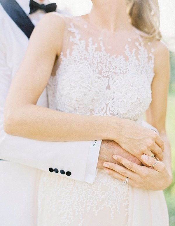 White Tux Wedding Dubai Lace Dress