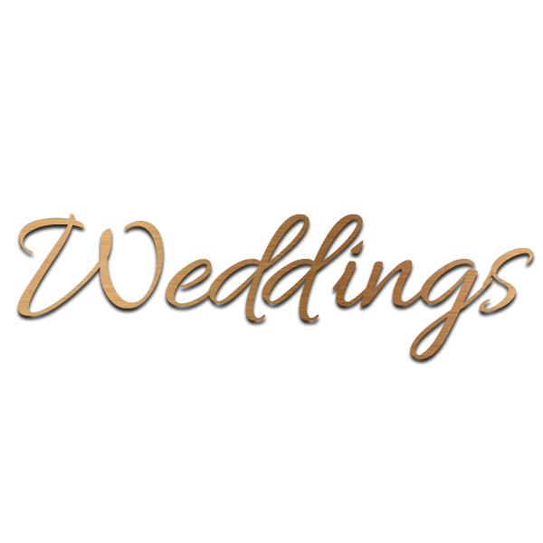 Weddings Bronzed Header