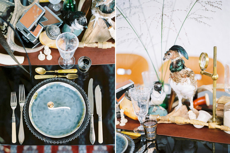007-wedding-reception-dinner-styled-with-stuffed-birds-and-antiques