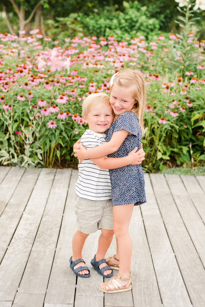 Richmond Summer flower garden family photography-13