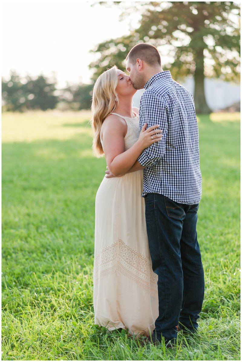 Mansfield Ohio Engagement Session Kingwood Garden Center_0014