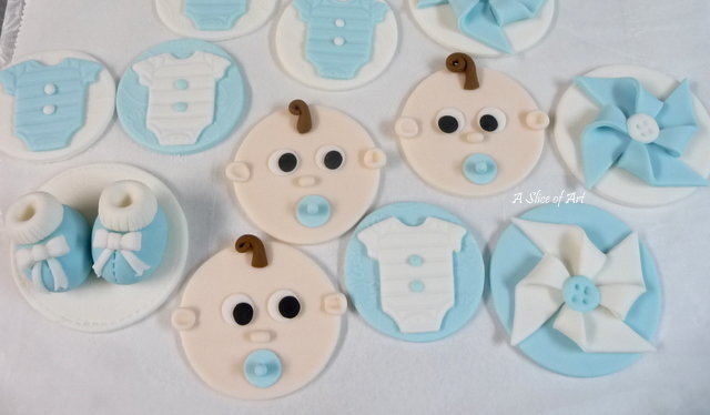 baby toppers fondant