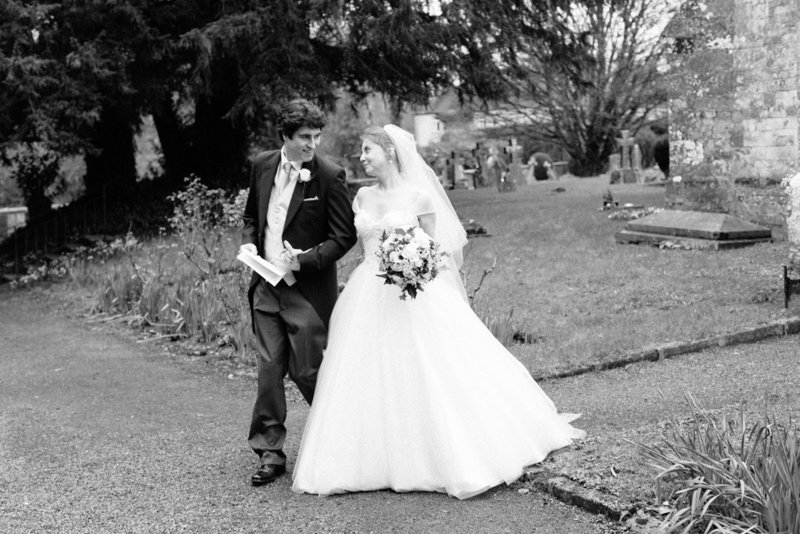 sarah hannam bradley house wiltshire wedding film photographer bride and groom