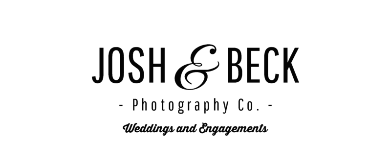 Josh and Beck Wedding Logo (Black)