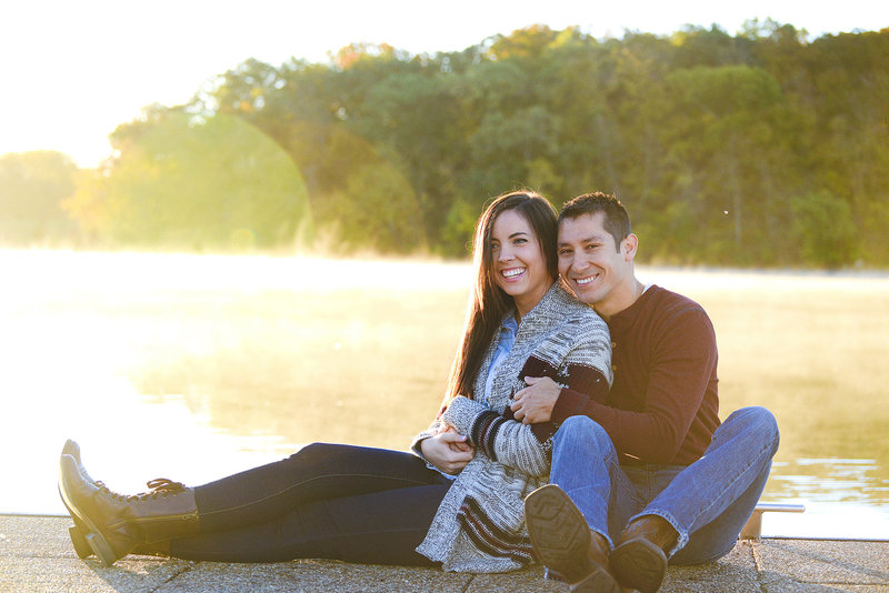 Engagement Pictures at Shawnee Mission Park-4