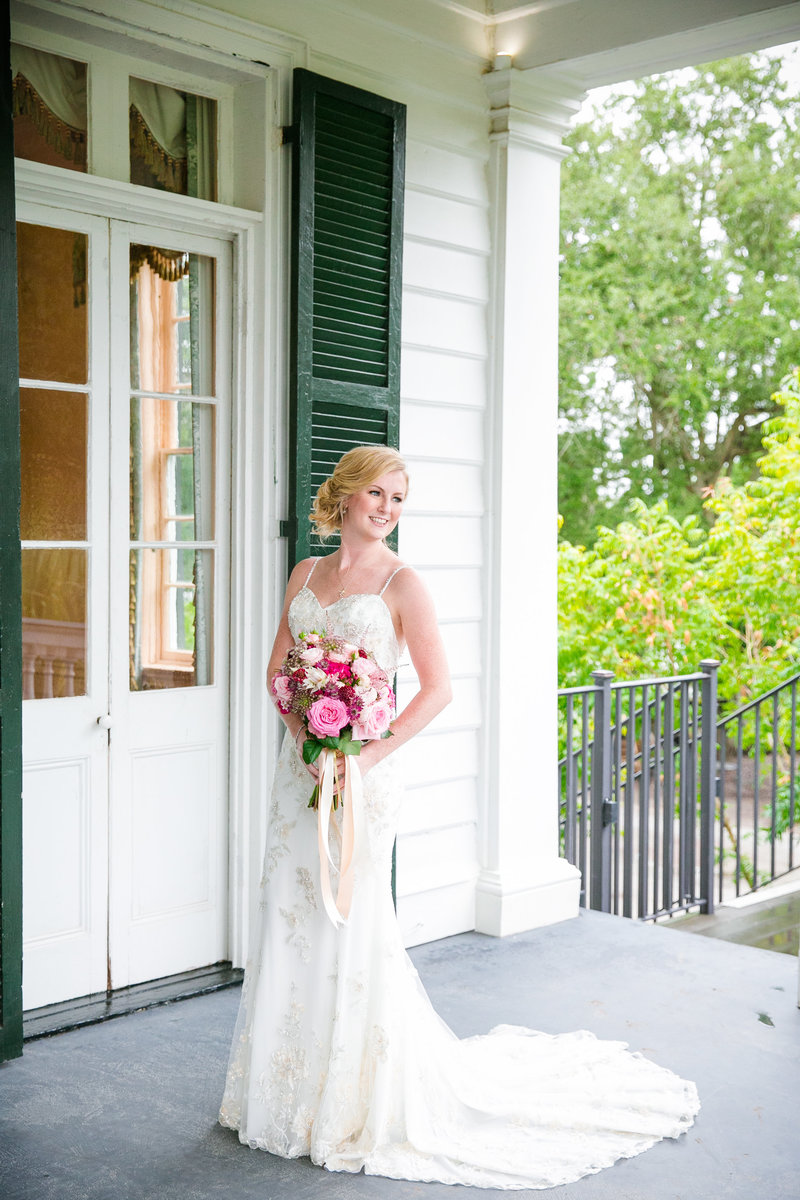 Bridal Portraits at Lowndes Grove