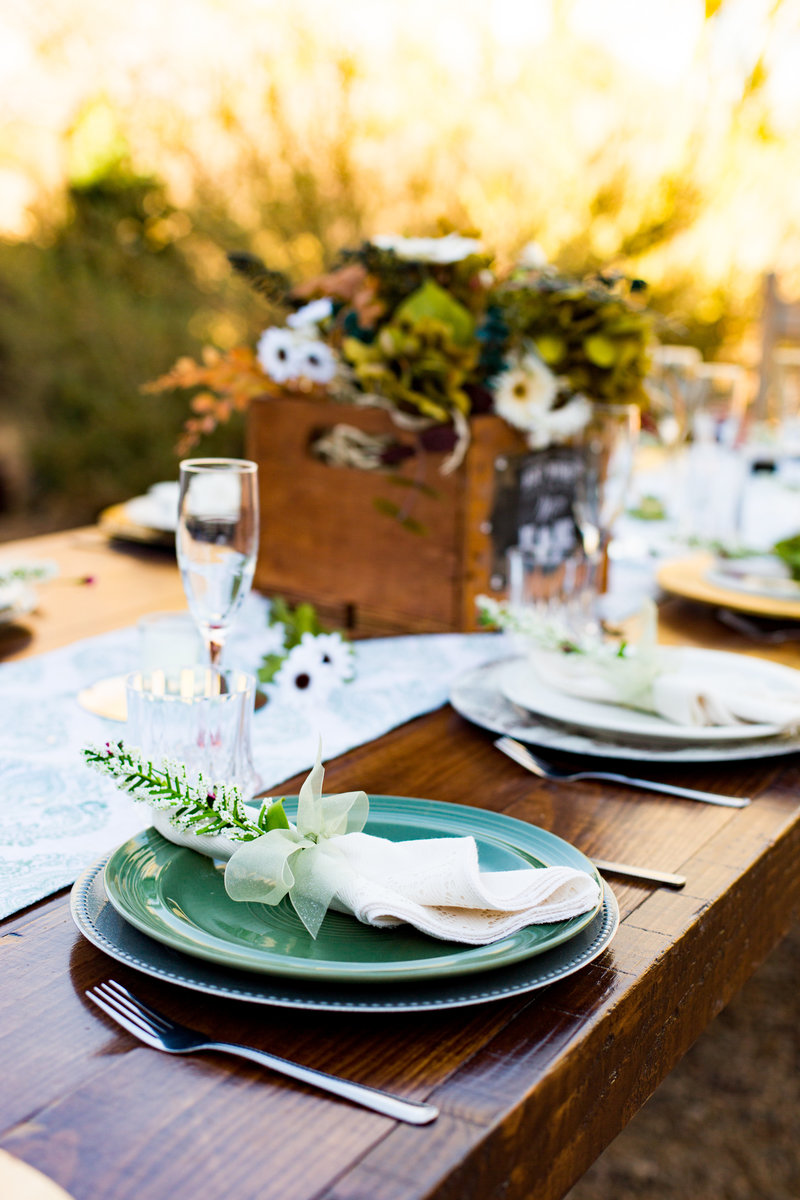 arizona vintage wedding details emma lee photography