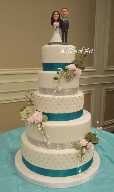 bling weddingcake