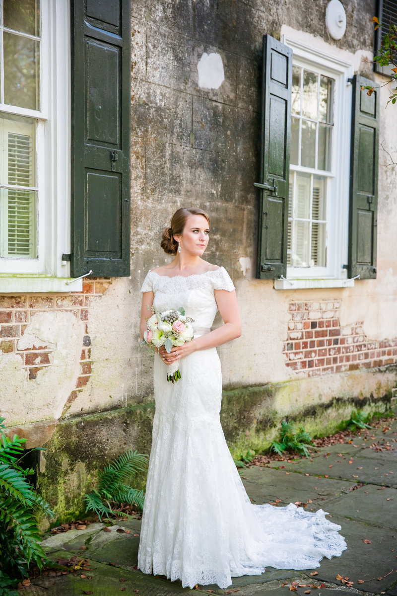 Classic Bridal Portraits in Charleston SC