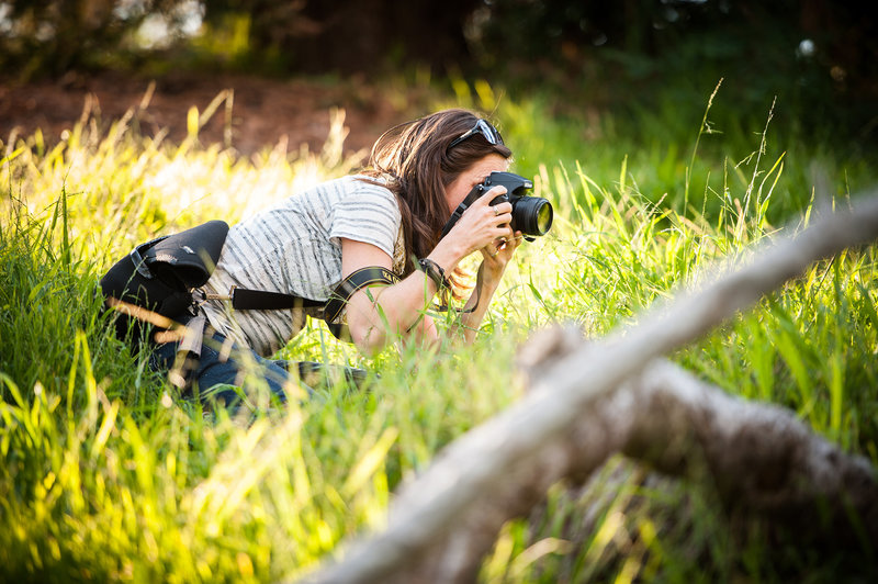 Balboa Park Photographer in in Grass