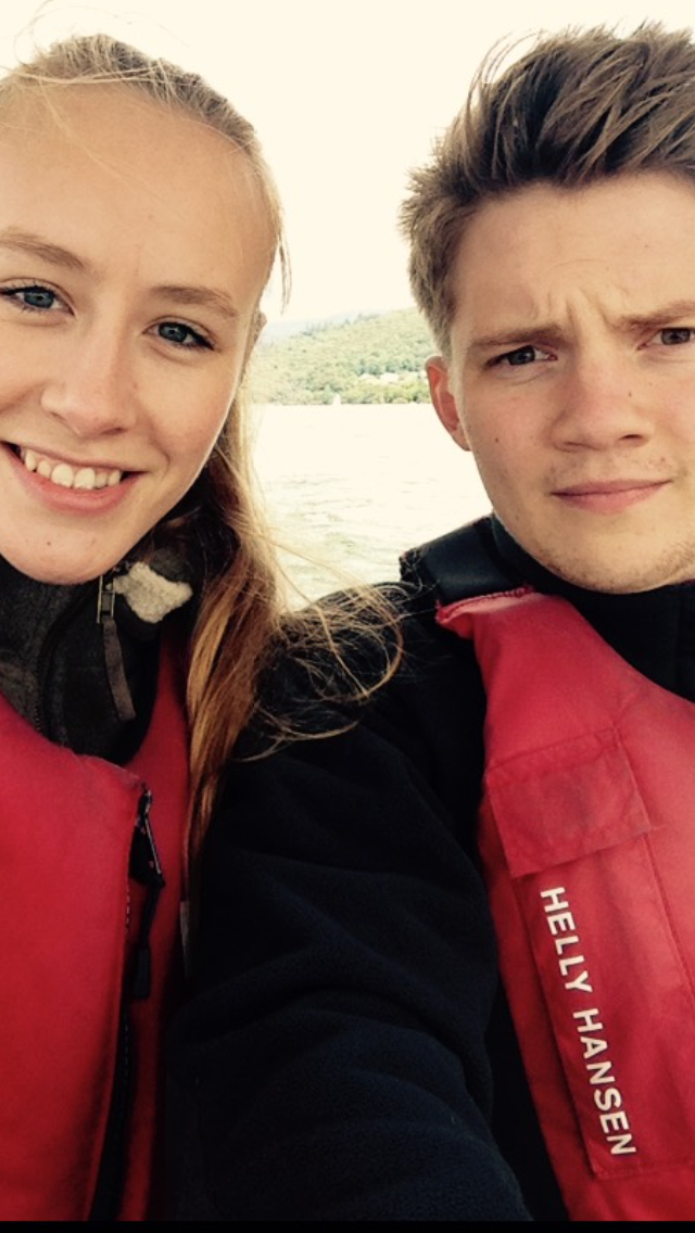 Harry Ward and Annie Melling Selfie in the Lake District