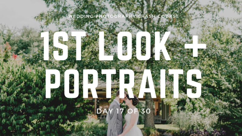 First Look & Portraits