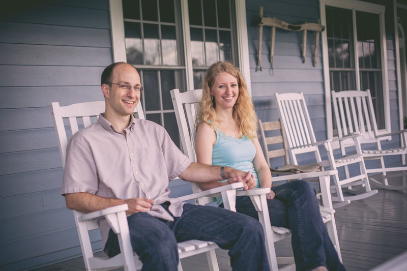 Austin Family Photographer, Tiffany Chapman, Bride and Groom rocking chairphoto