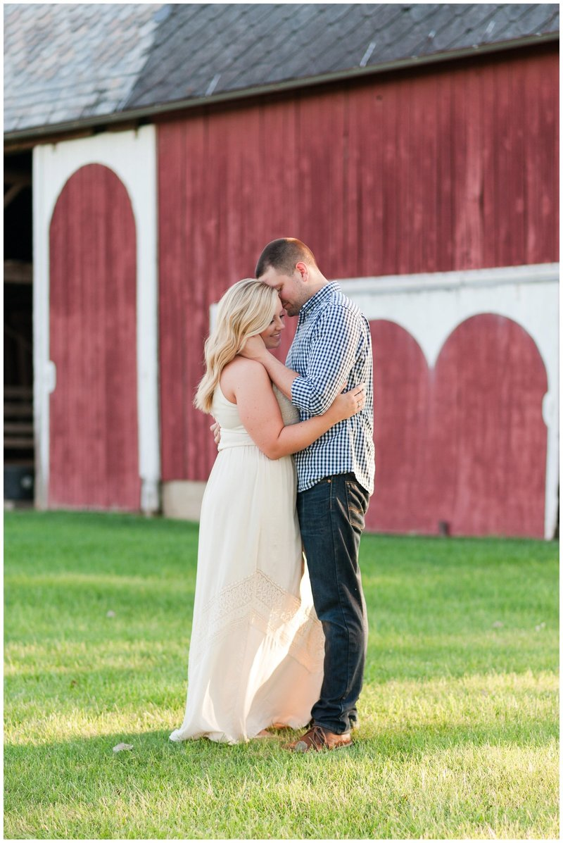 Mansfield Ohio Engagement Session Kingwood Garden Center_0031