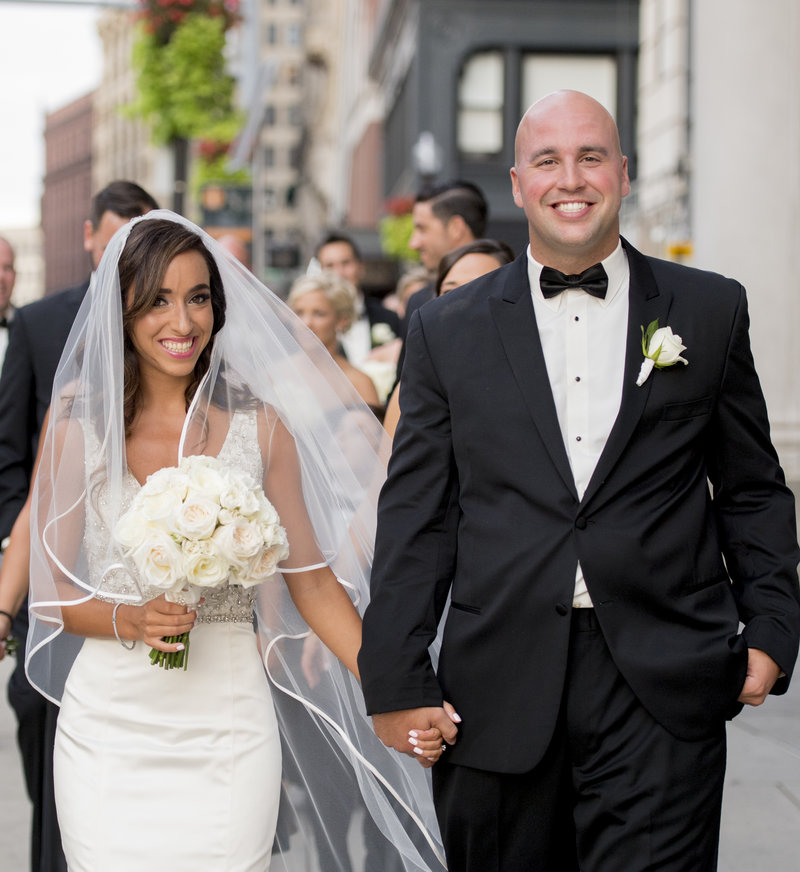 Downtown Boston Wedding Omni Parket House