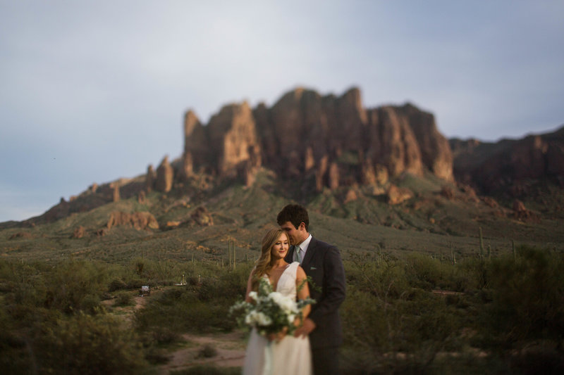 Lost Dutchman Wedding Portraits
