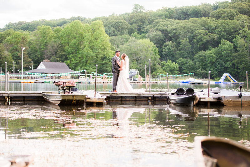 Lake Valhalla Club Wedding Portraits