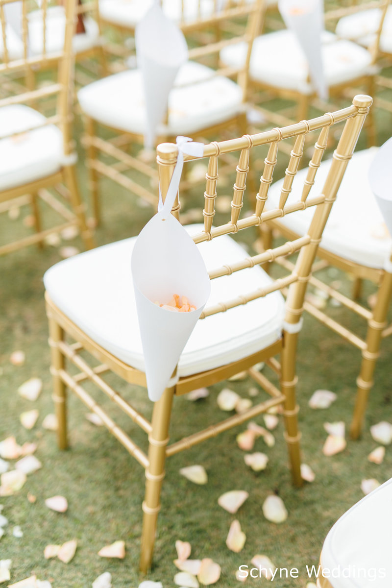 WM Gold chiavari chairs