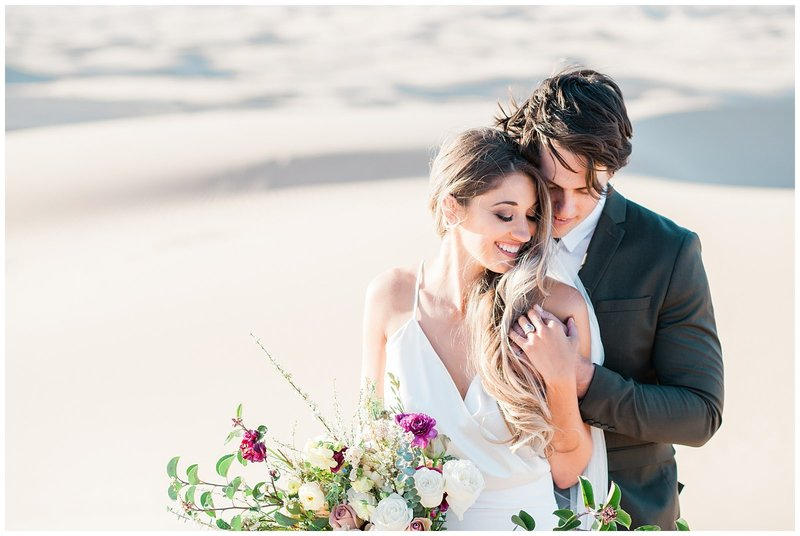 Glamis Desert Bohemian Wedding Styled elopement southern california sand dunes photo018