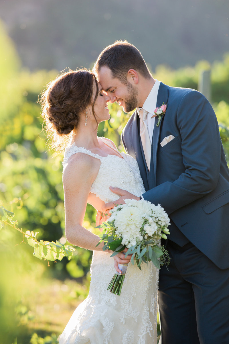 Bride and Groom Beecher Hill Wedding Photographer Lynette Smith Photography