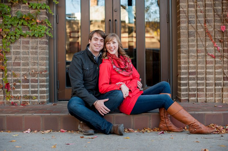 Kris Kandel loves photographing fall sessions . The  downtown area is full of vibrant colors! www.kriskandel.com