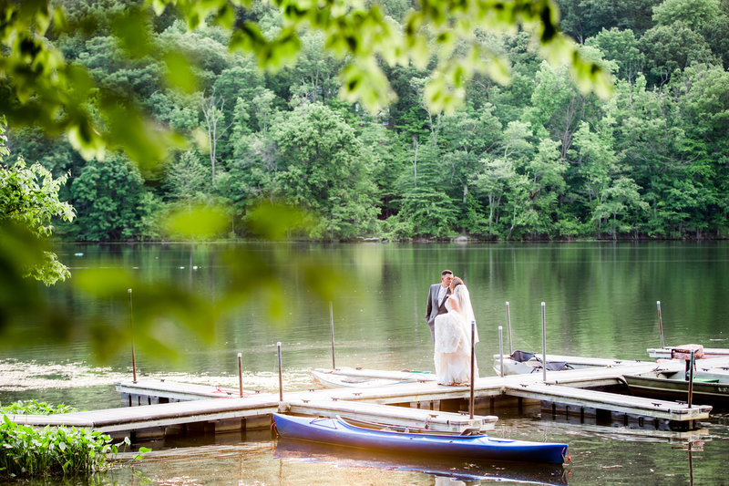 Wedding photo ideas for lakeside weddings