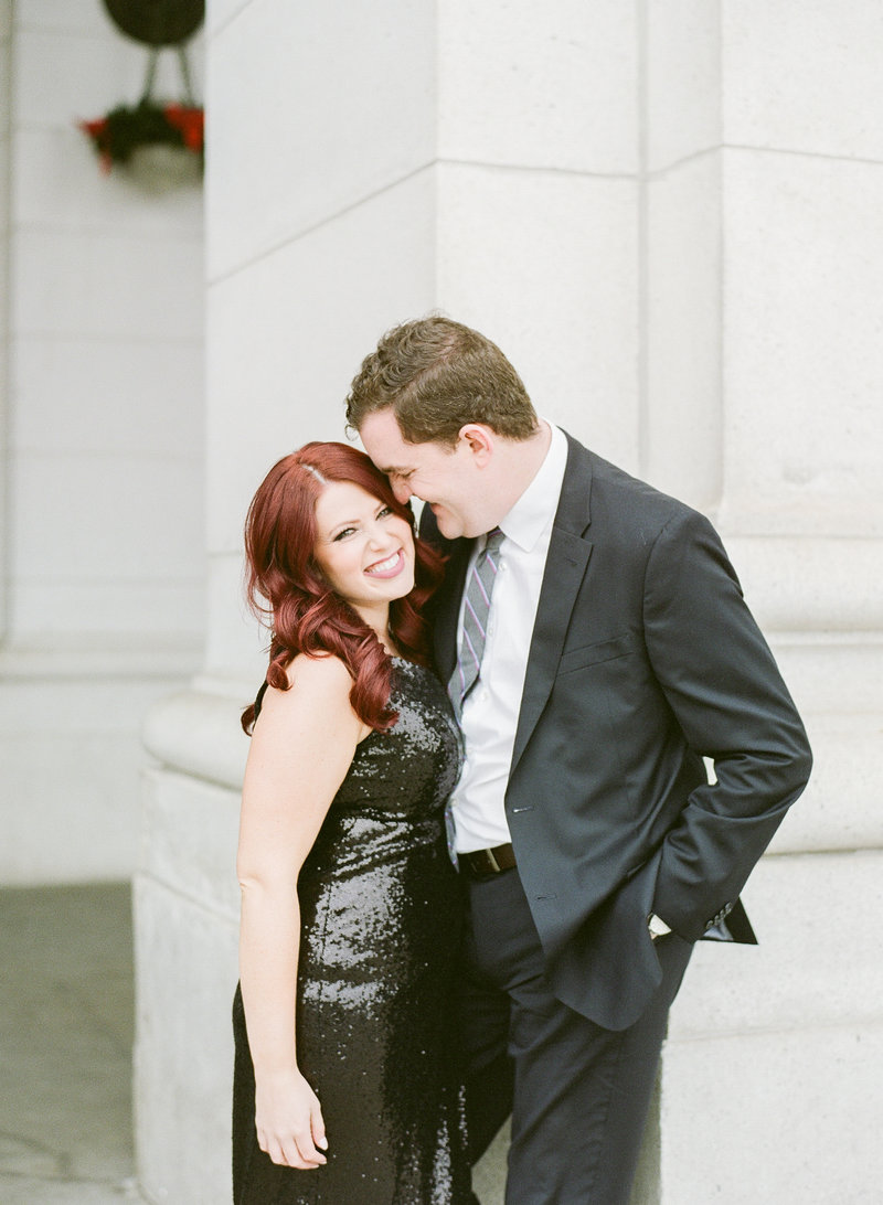 Union Station Washington DC Engagement Photo